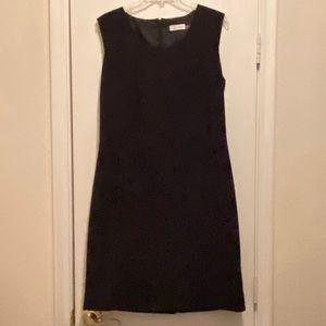 Calvin Klein black dress 14 lined